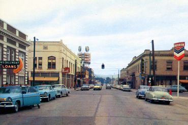 Kalispell, Montana in the 1950s.