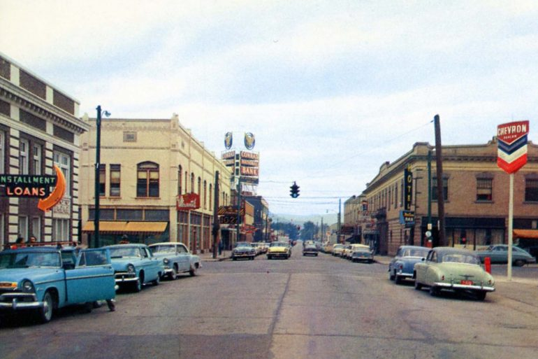 Kalispell, Montana in the 1950s.