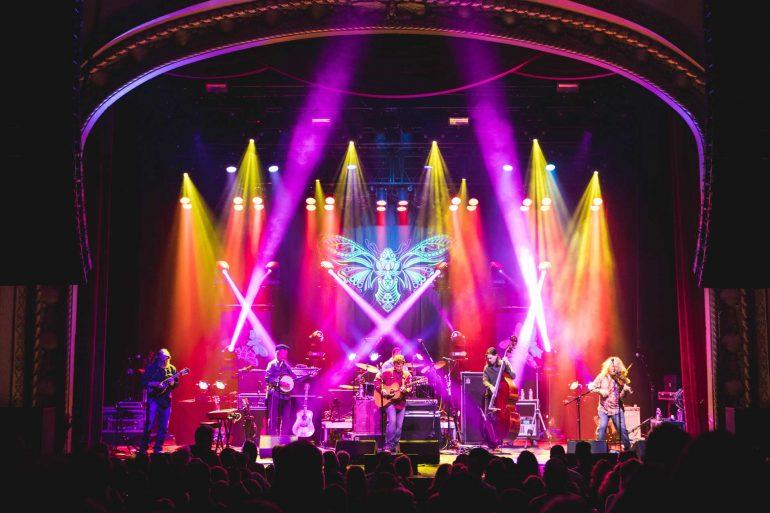 Railroad Earth perform at the Wilma in Missoula. (Neubauer Media)