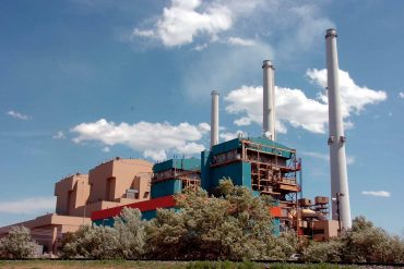 The Colstrip Electric Generating Station in Colstrip, Montana. (AP Photo, Matt Brown)