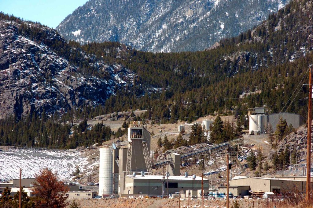 The Stillwater Mining Company, the only platinum and palladium mine in the United States, near Nye, Montana. (AP Photo, Matt Brown)